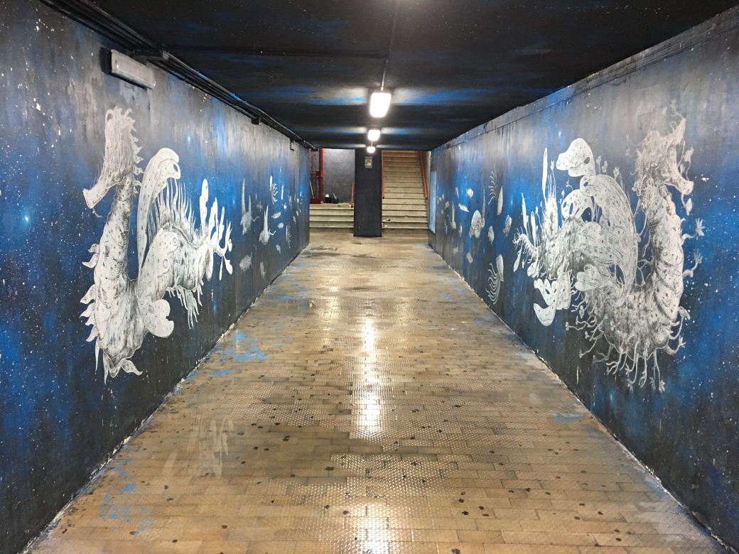 fluxus, piano di sorrento, graffiti, street art, murales, tekna restauro, restauri, restauro conservativo, decoro urbano
